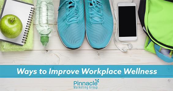 Ways to improve workplace wellness blog header