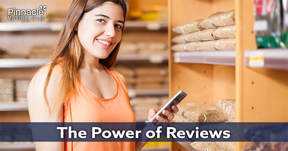 The power of reviews - blog header