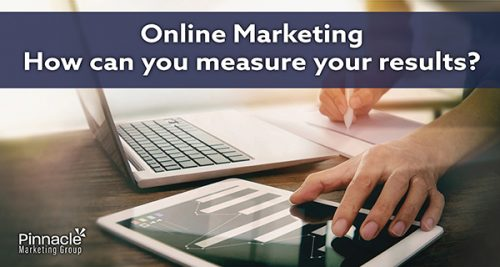 How can you measure your online marketing results blog header