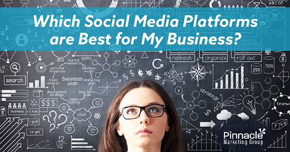 Which social media platforms are the best for my business blog header