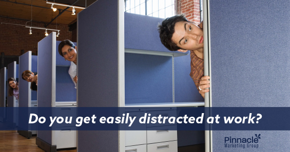 Do you get easily distracted at work blog header