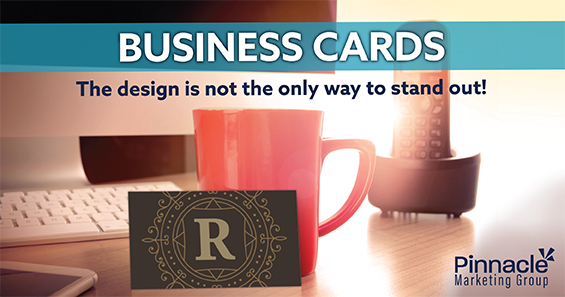 Business cards - The design is not the only way to stand out blog header