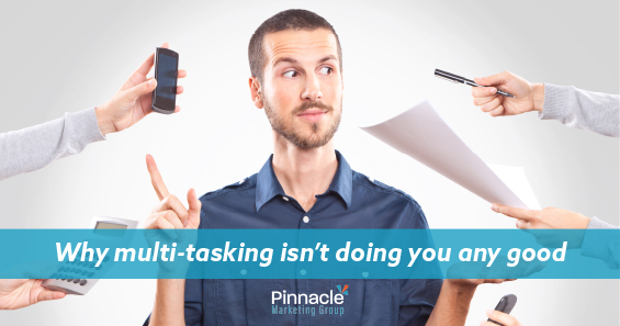 Why multi-tasking isn't doing you any good