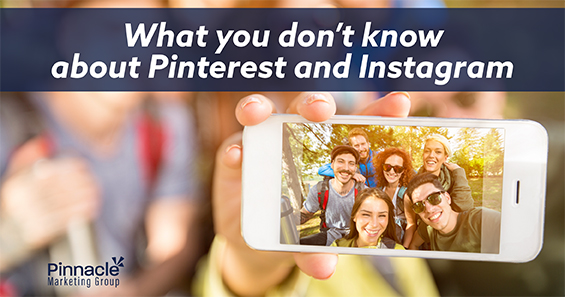 What you don't know about Pinterest and Instagram blog header