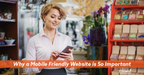 Why a mobile friendly website is so important blog header