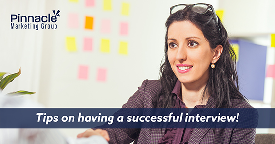 Tips on having a successful interview blog header