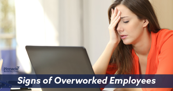 Signs of overworked employees blog header