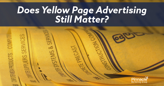 Does yellow page advertising still matter blog header