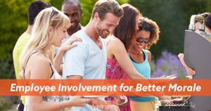 Employee involvement for better morale blog header