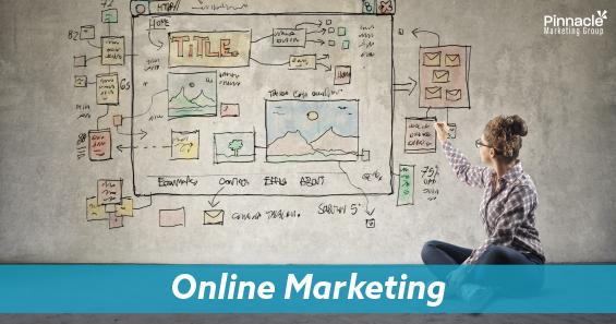 Online marketing blog header