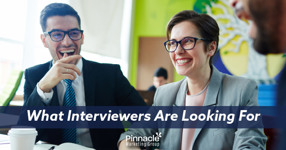 What interviewers are looking for blog header