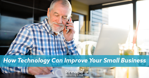 How technology can improve your small business blog header