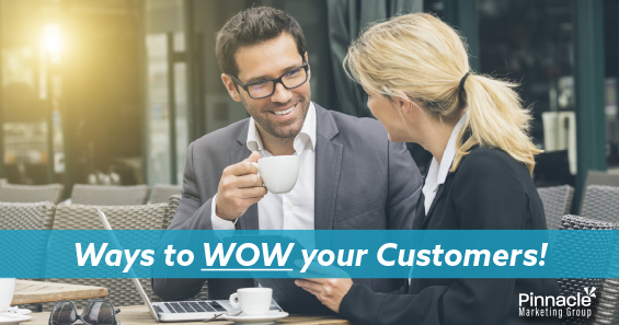 Ways to wow your customers blog header