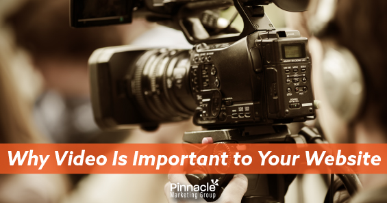 Why video is important to your website blog header