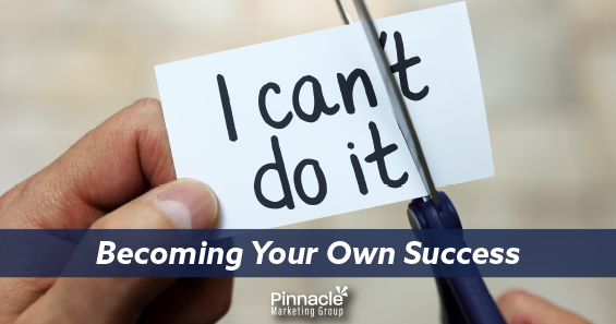 Becoming your own success blog header