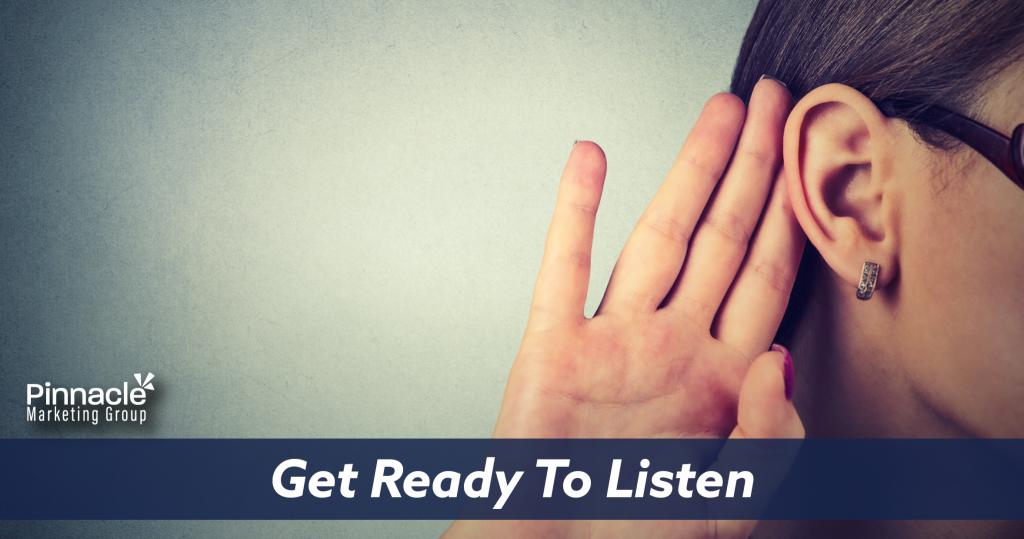 Get ready to listen blog header