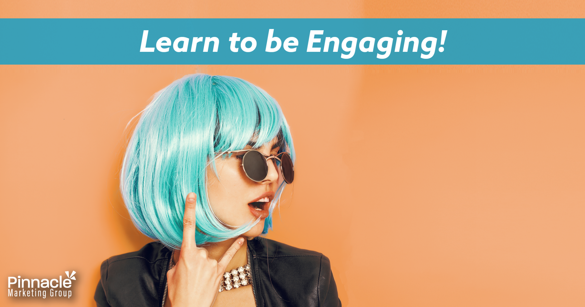 Learn to be engaging blog header