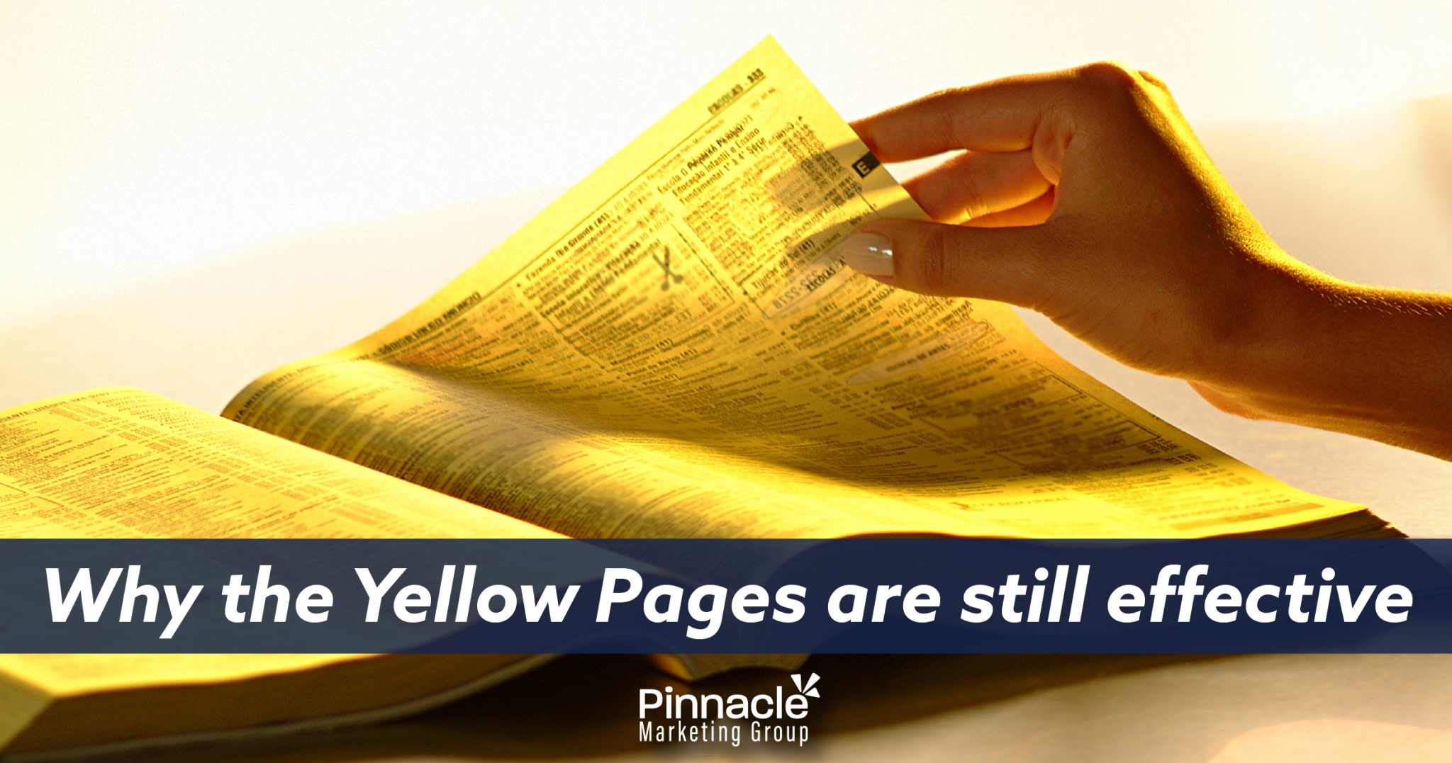Why the yellow pages are still effective blog header