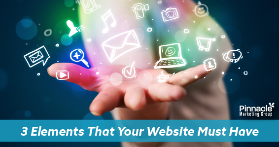 3 elements that your website must have blog header