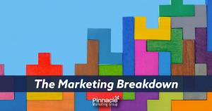 The marketing breakdown blog header