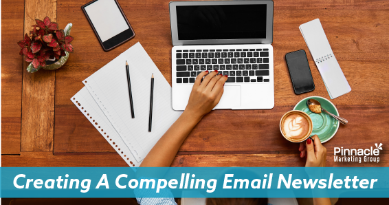 Creating a compelling email newsletter blog header