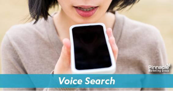 Voice search blog header