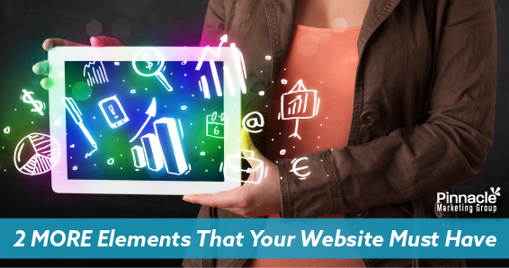 2 more elements that your website must have blog header