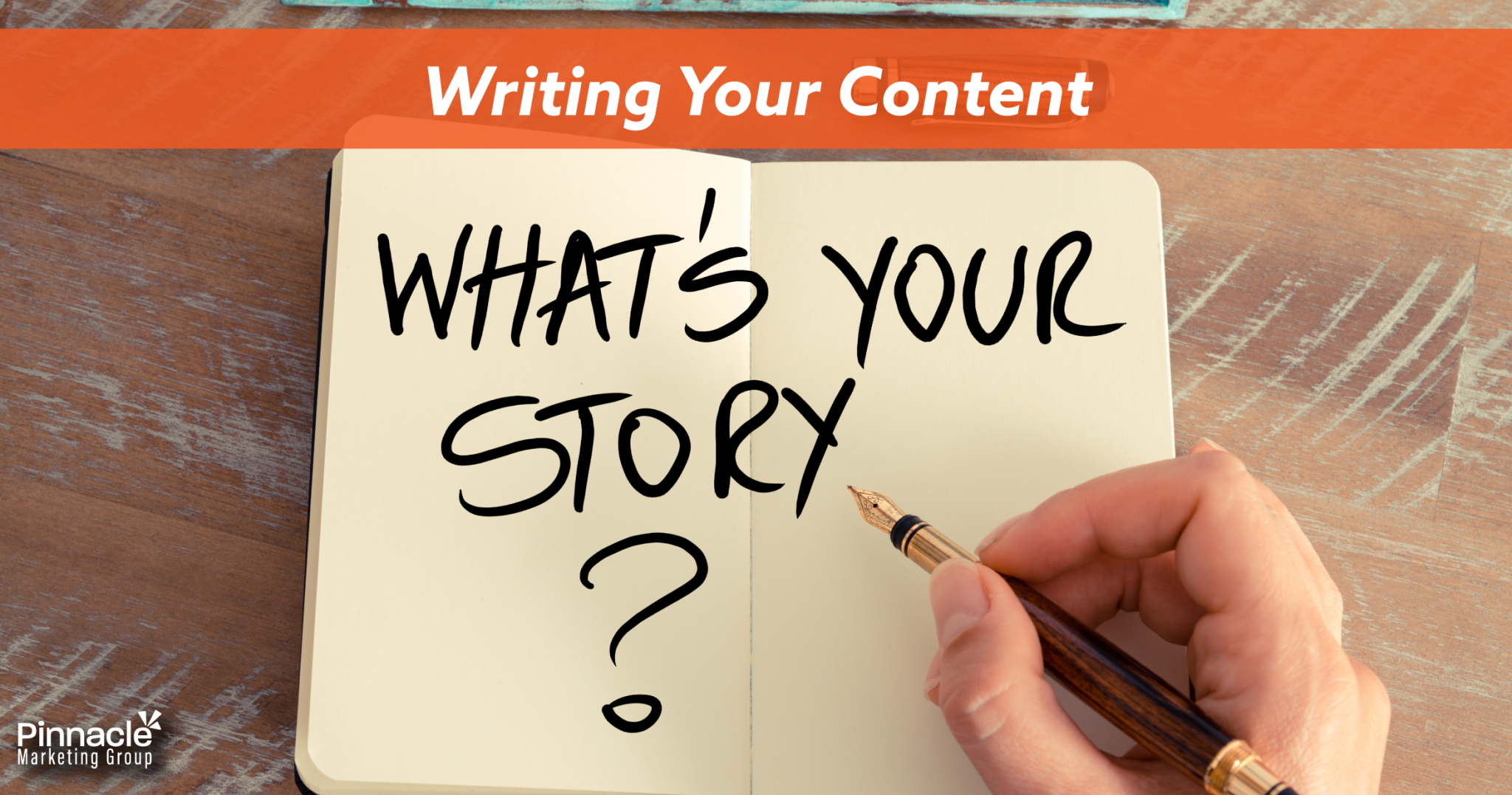 Writing your content blog header