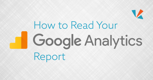 How to read your Google analytics report blog header