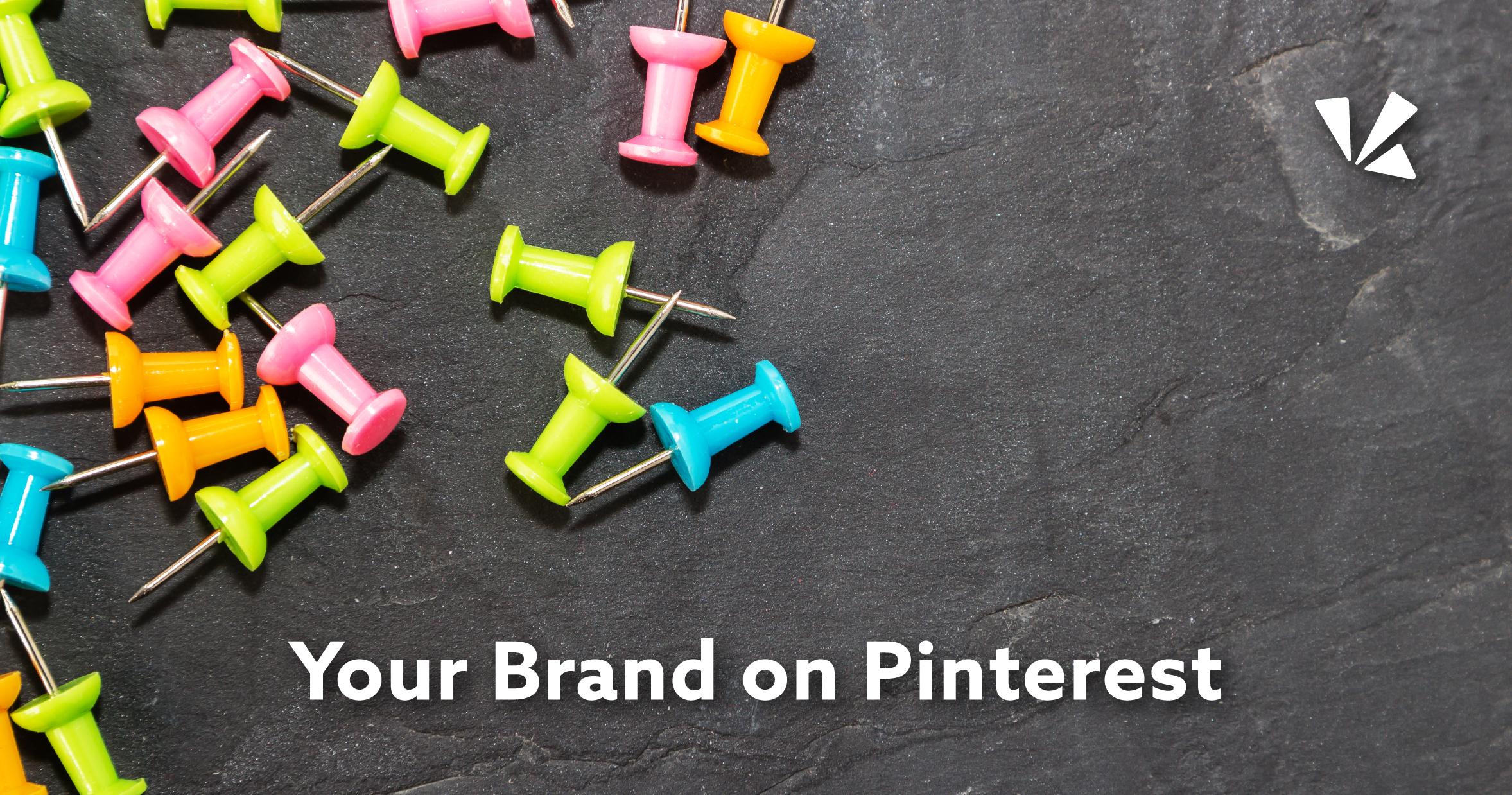 Your brand on Pinterest blog header