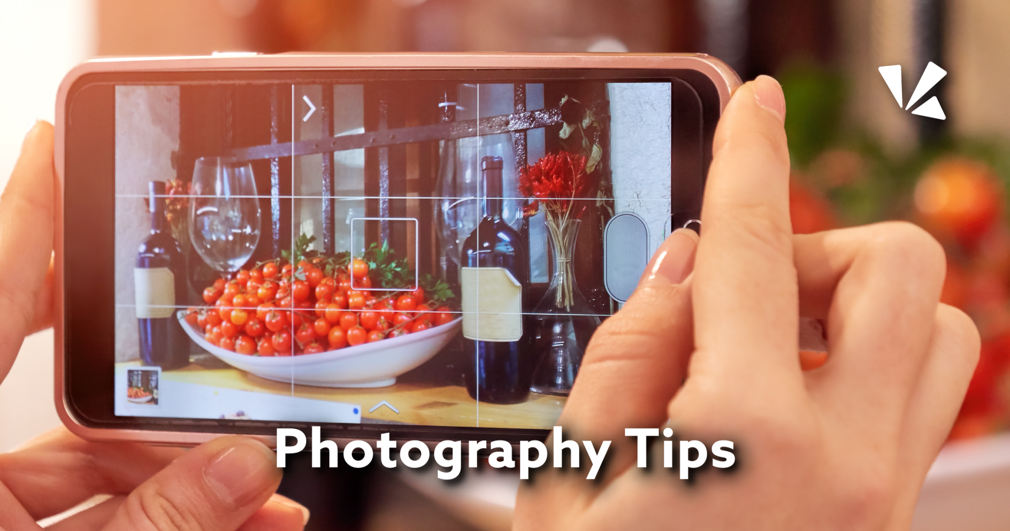 Photography tips blog header