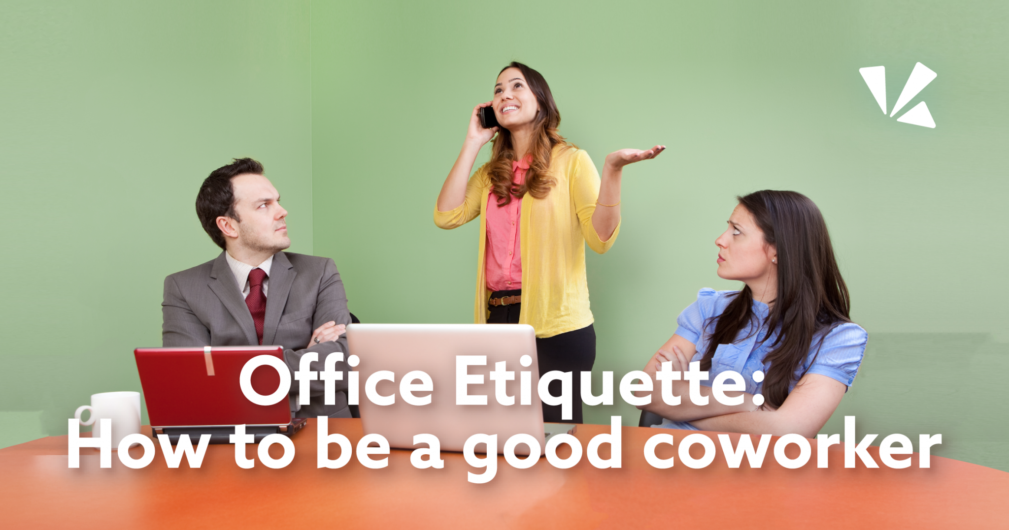 Office etiquette: how to be a good coworker blog header