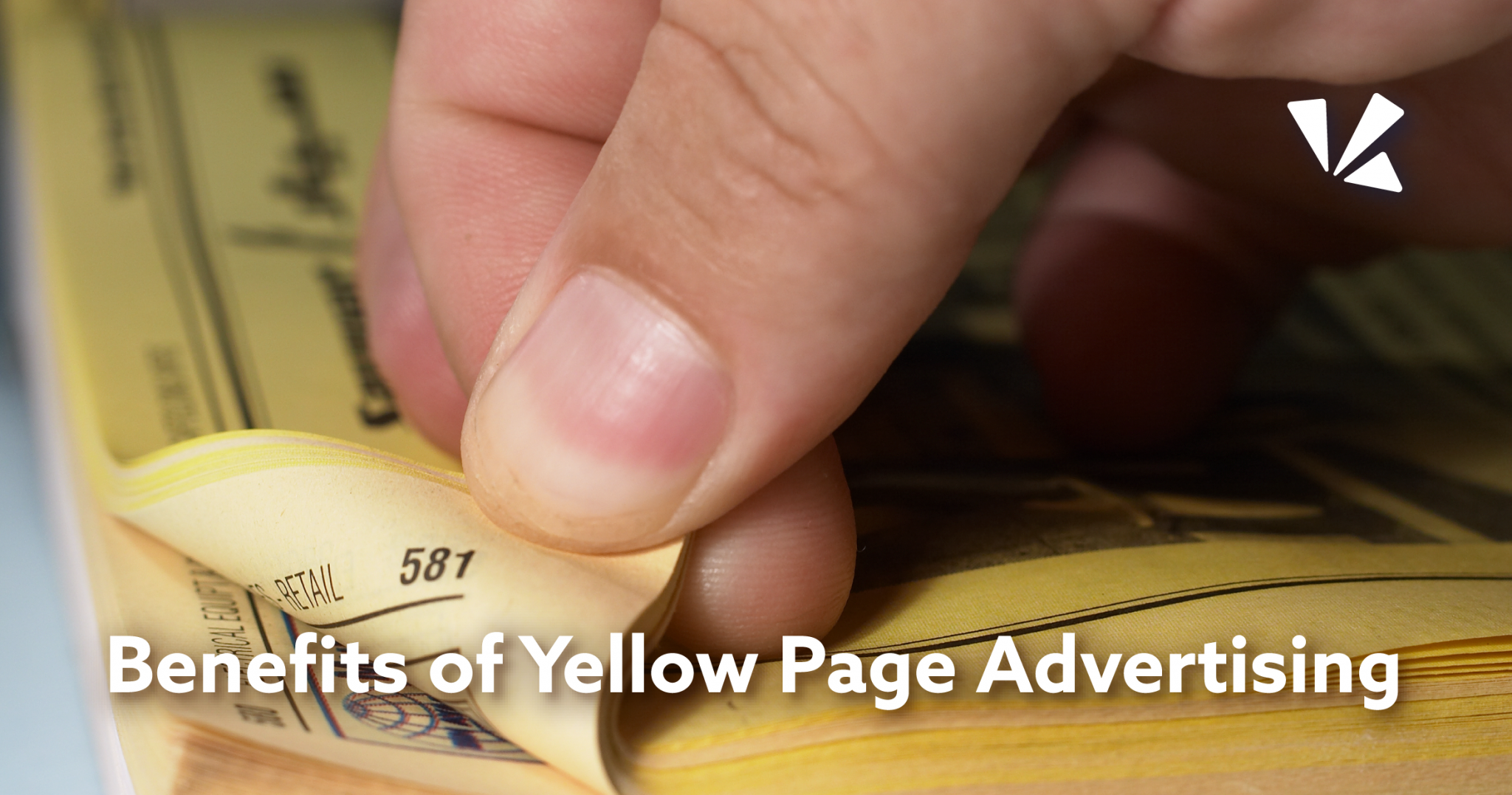 Benefits of yellow page advertising blog header