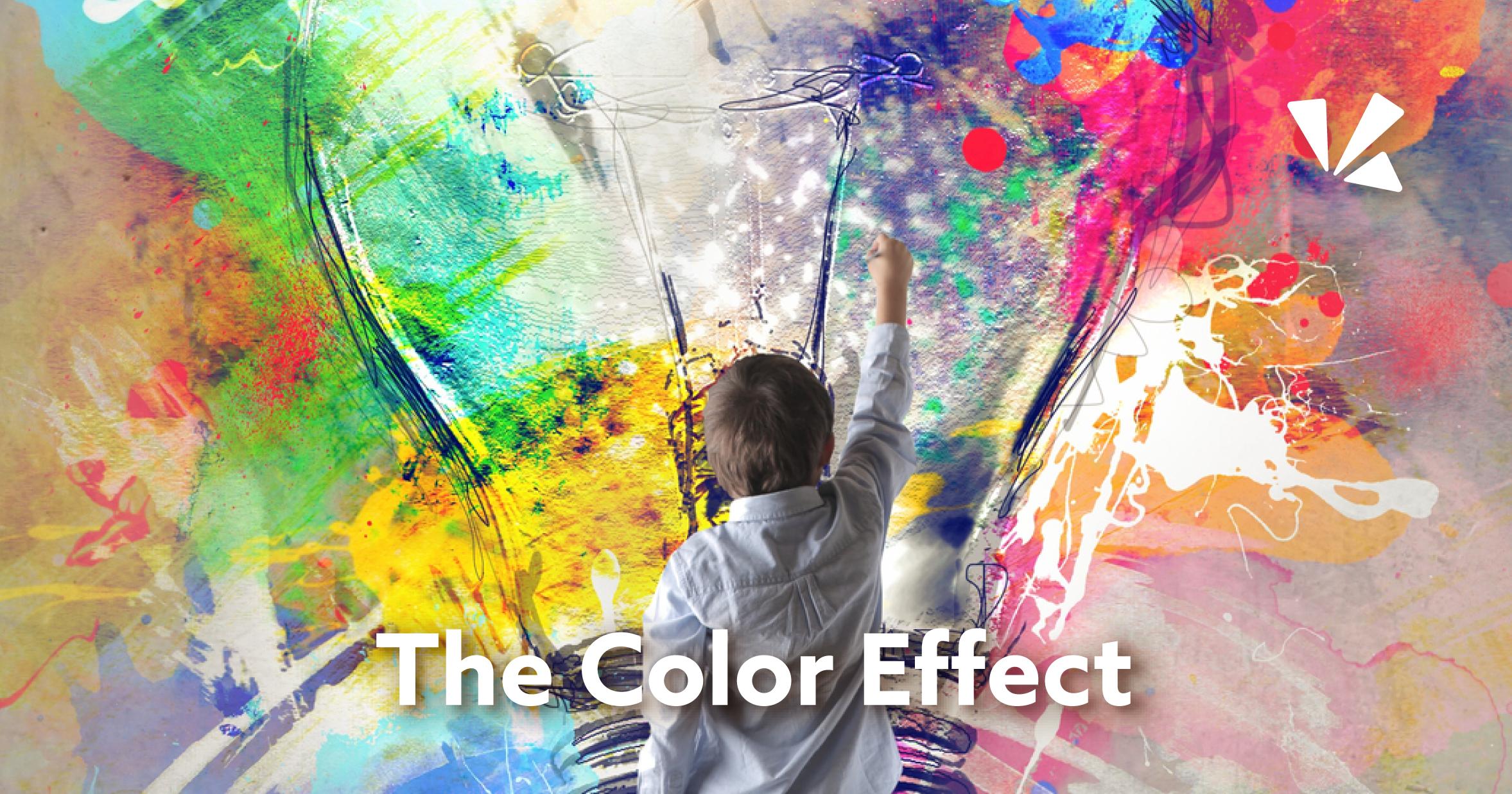 The color effect blog header