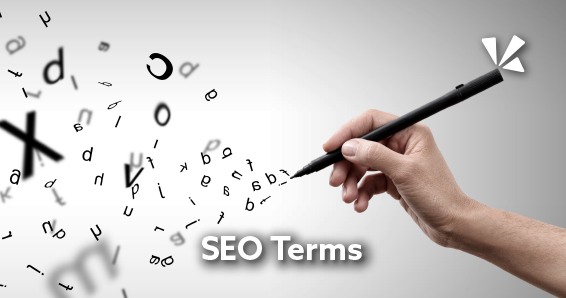 SEO terms blog header