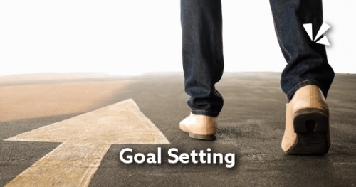 Goal setting blog header