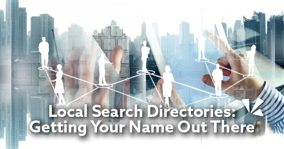 Local search directories: Getting your name out there blog header