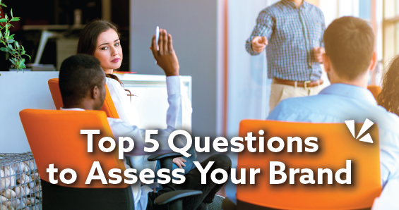 Top 5 questions to assess your brand blog header
