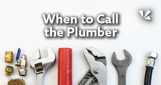 When to call the plumber blog header