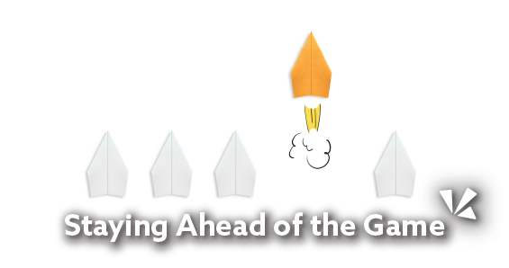 Staying ahead of the game blog header