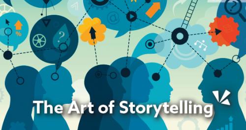 The art of storytelling blog header