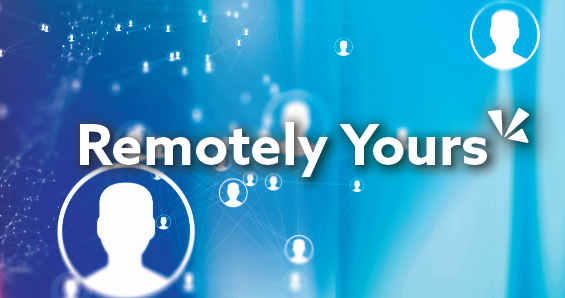 Remotely yours blog header