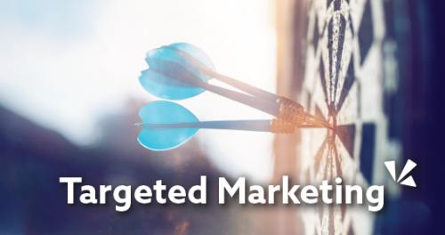 Targeted marketing blog header
