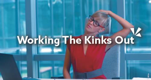 Working the kinks out blog header