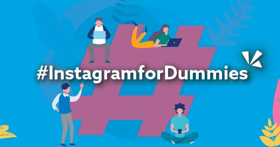 Instagram for dummies blog header