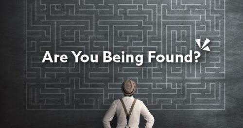 Are you being found blog header