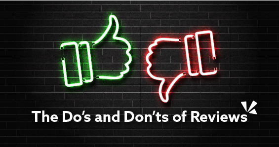 The do's and don'ts of reviews blog header