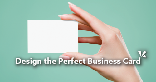 Design the perfect business card blog header