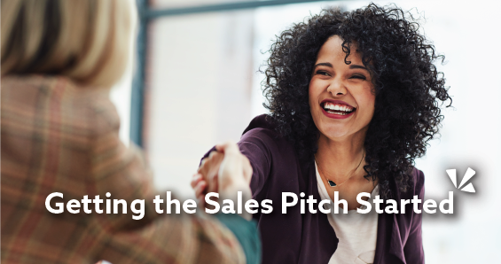 Getting the sales pitch started blog header