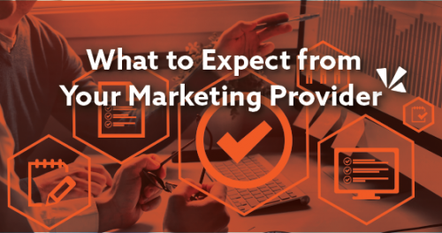 What to expect from your marketing provider blog header